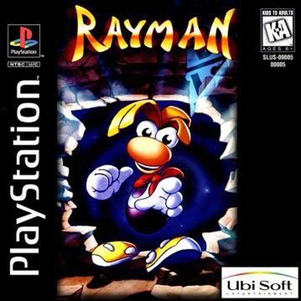 Rayman [U] Front Cover